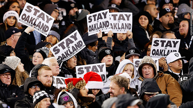Although the Oakland Raiders are moving to Las Vegas local fans still have two years to cheer on the Super Bowl contenders.
