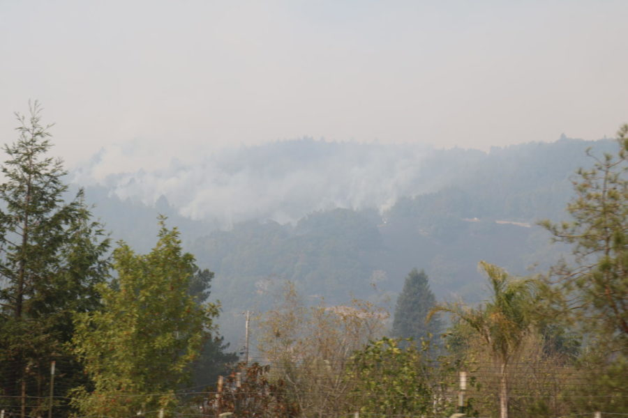 Bennett Ridge in Annadell is the next victim of the Nuns Fire.