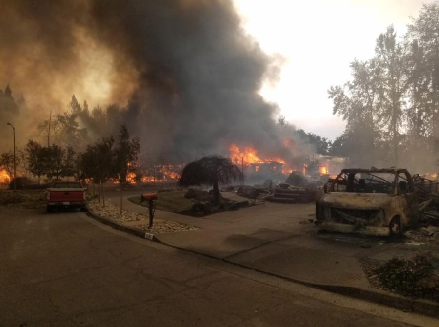 Fires continue to burn across Santa Rosa