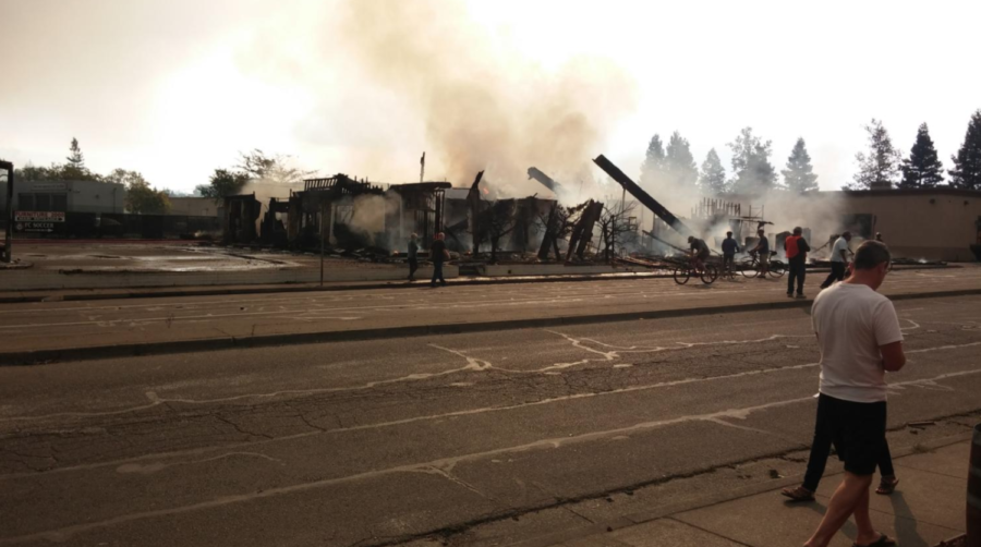 Local businesses hit hard by widespread fires