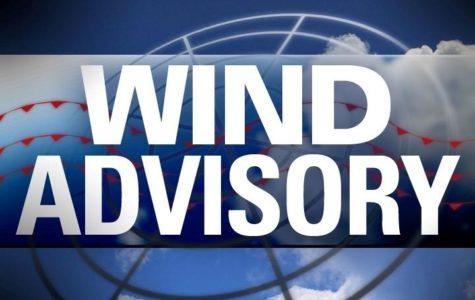 Wind advisory in effect tonight