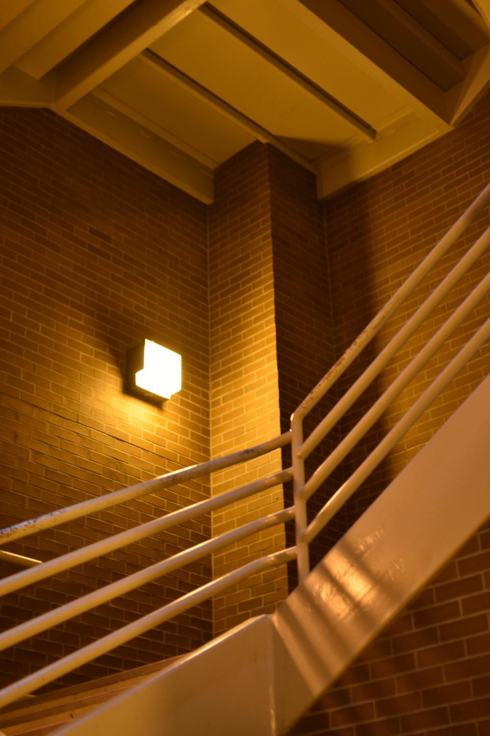 Through a Santa Rosa Junior College student reports she was sexually assaulted in this Maggini Hall stairwell on Oct. 27, police did not release a Nixle alert of the incident until two weeks later.