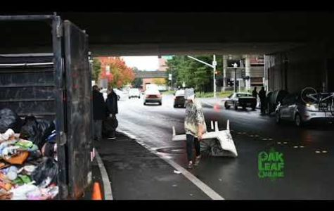 Homeless encampment forced to vacate