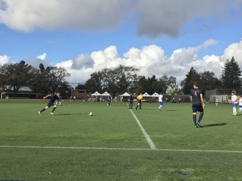 Men's soccer earn playoff spot with win over Modesto