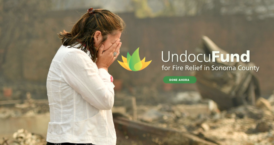 UndocuFund is just one of several organizations raising money for undocumented fire victims.