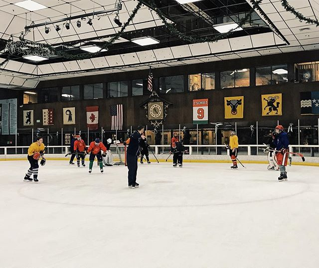 SRJC+Hockey+team+practicing+at+Snoopys+Ice+Rink+in+Santa+Rosa.