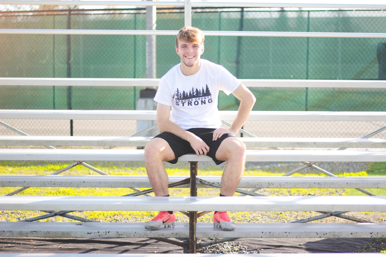 Owen McCabe left high school at 16 to play semi-professional soccer in Scotland.