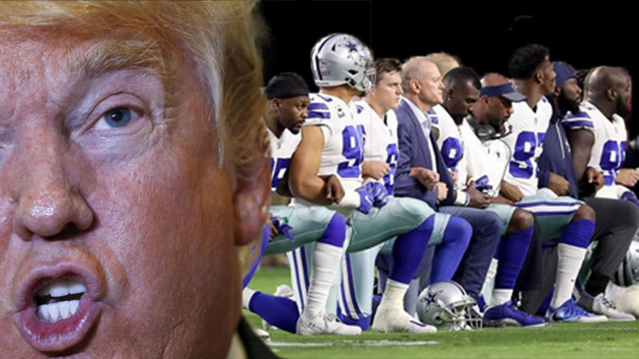 Donald+Trump+continues+to+stick+his+nose+in+sports%2C+probably+because+he+wishes+he+owned+an+NFL+team.