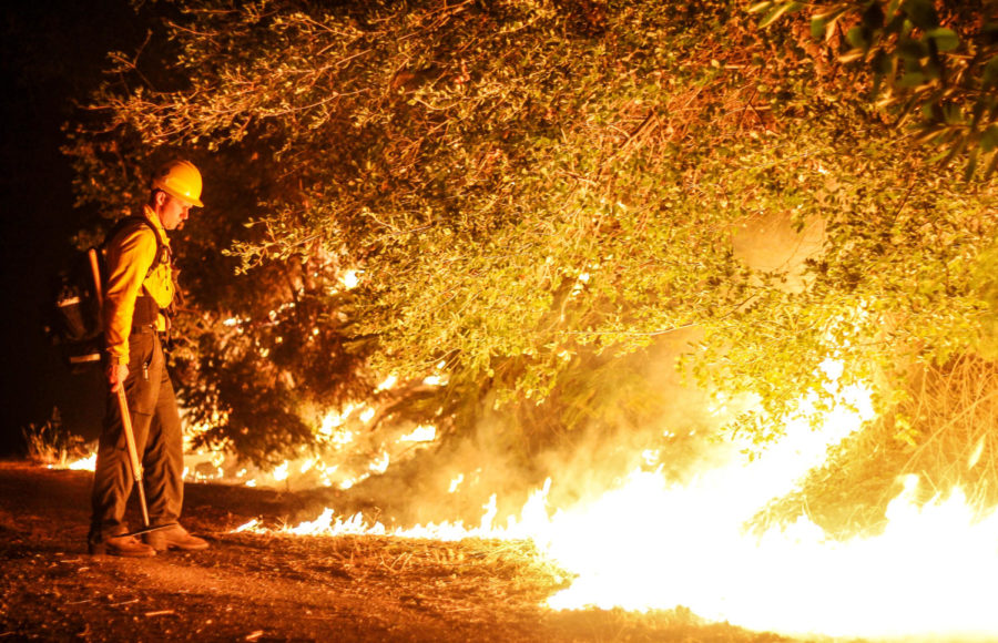 A dry winter has brought California back into the drought conditions that were cited as a major cause of last Falls wildfires.