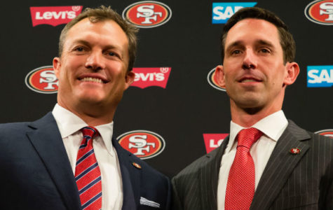 San Francisco 49ers General manager John Lynch and Head coach Kyle Shanahan.