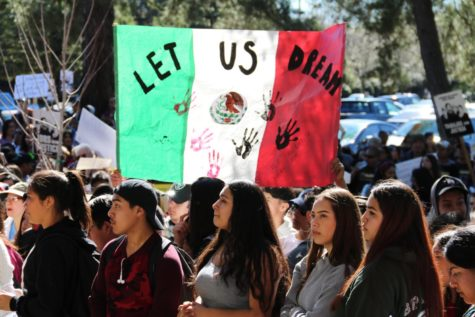 SRJC students show solidarity in DACA walkout
