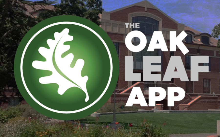 New Mobile App for The Oak Leaf News