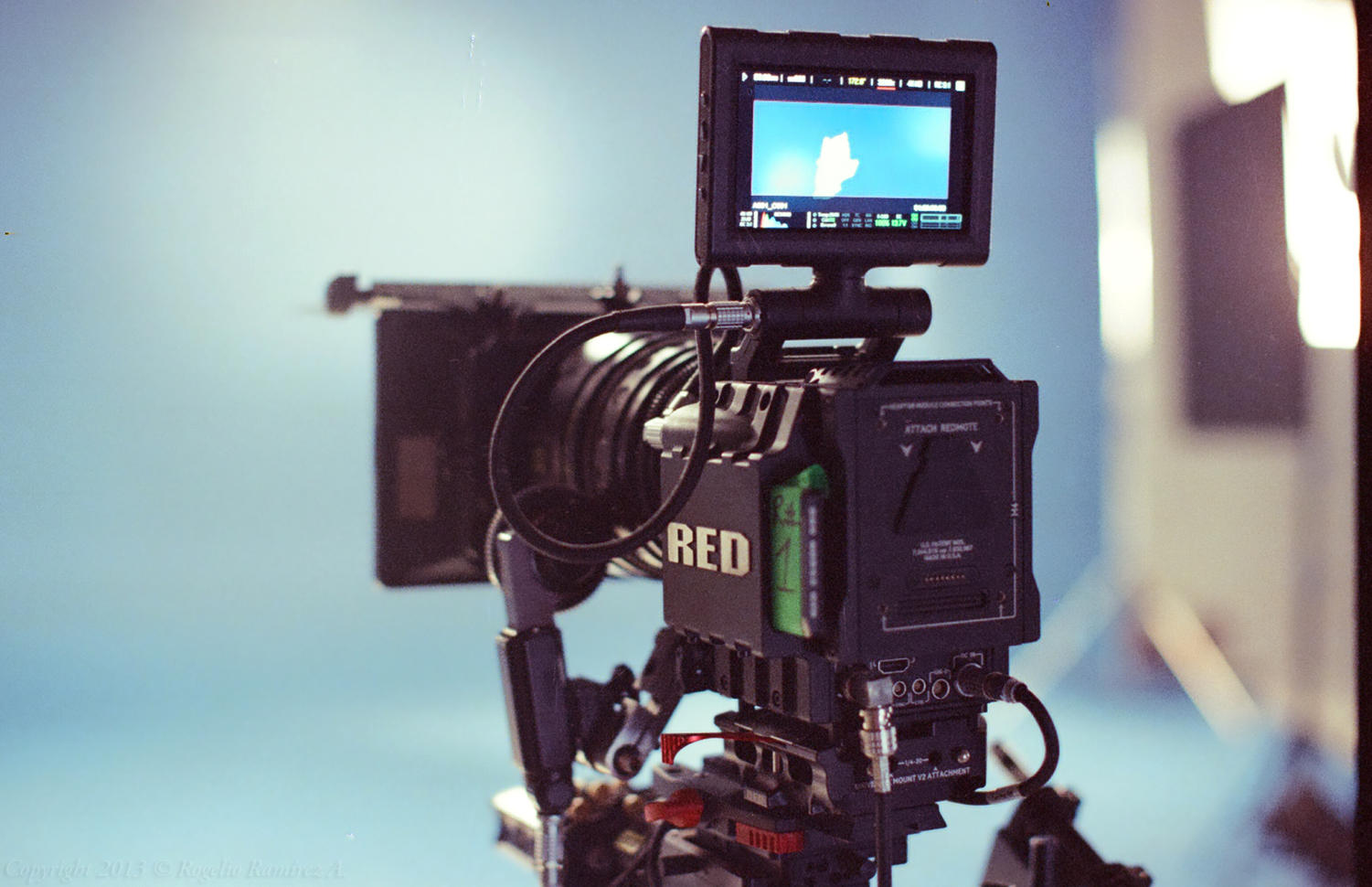 SRJC's new Red Camera allows student filmmakers to produce professional grade films.