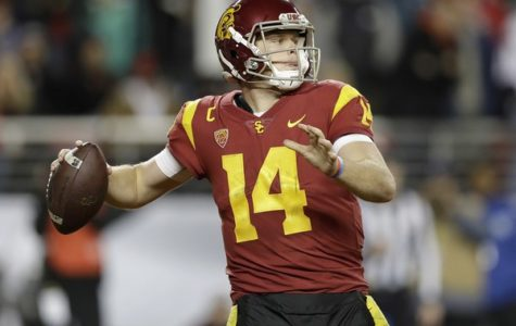 Sam Darnold, potential emperor of Cleveland, may be the first overall pick in three weeks.