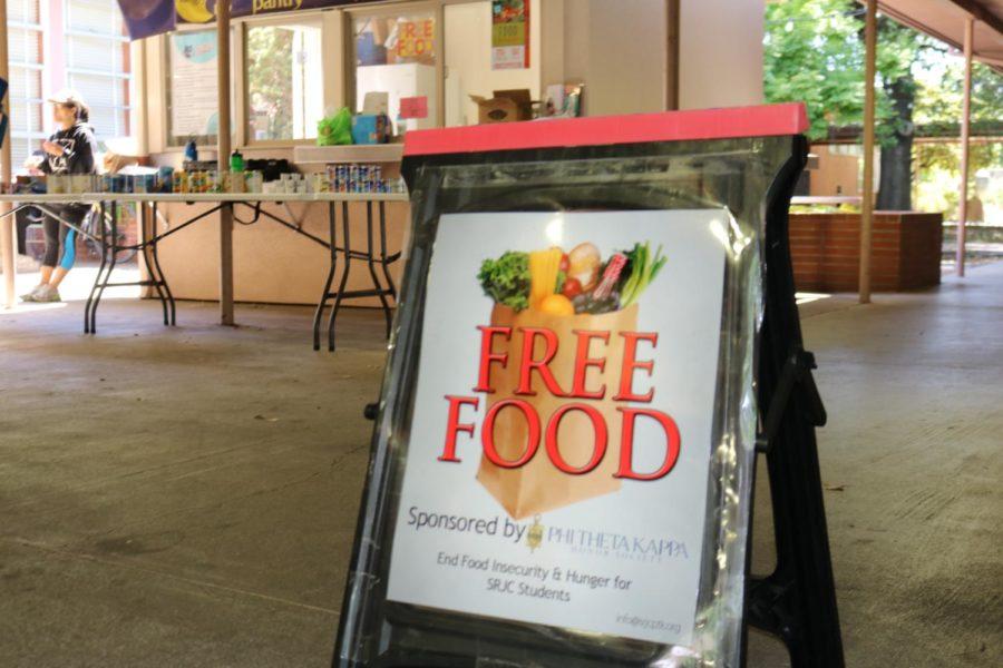 Community volunteers run the Bear Cub Free Food Pantry at the Barnett Hall Kiosk at Santa Rosa Junior Colleges Mendocino campus. Distribution is also available in Petaluma.