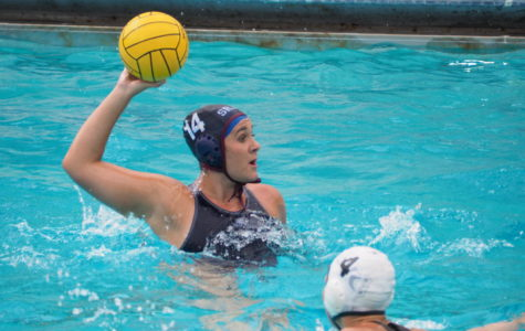 Women's water polo team battles, loses close home opener