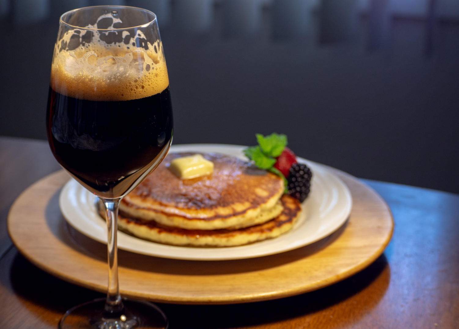 Imperial Stout Ales pair perfectly great with pancakes.