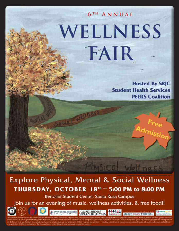 Treat yourself right : SRJC's upcoming wellness fair