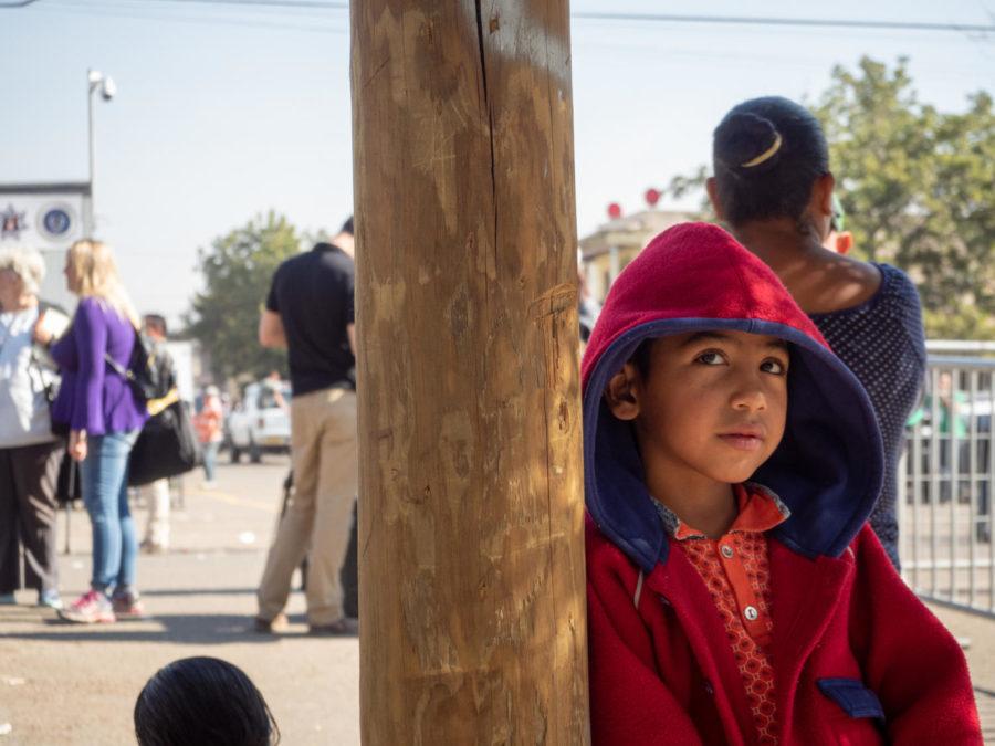 Migrant+Caravan+in+Tijuana