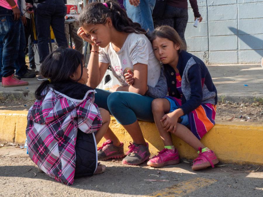 "Tension in Tijuana: SRJC student documents the ""migrant caravan"""