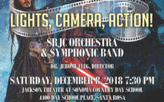 """Lights, Camera, Action!"": SRJC Orchestra & Symphonic Band scores the movies"