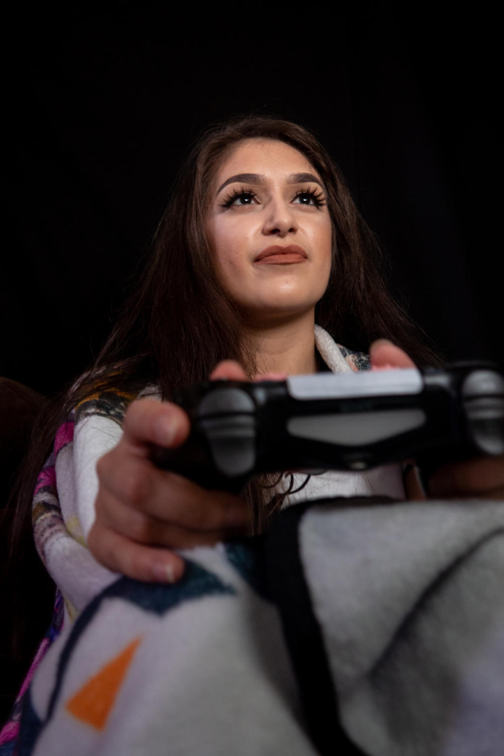 Eileen Rodriguez endures the harassment so common to female gamers.