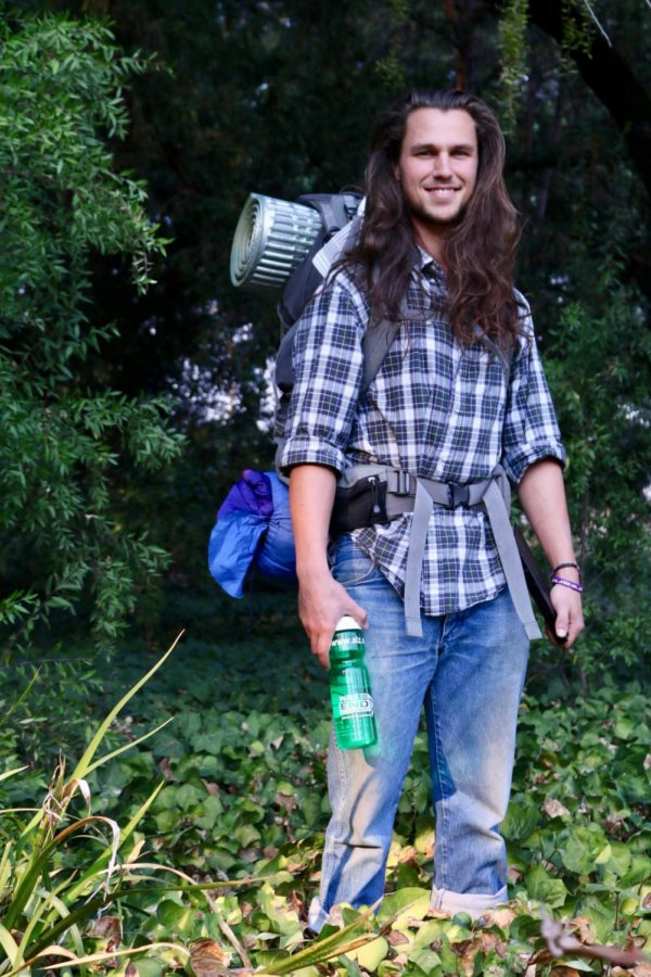 Santa Rosa Junior College student Jacob Beal is all geared up to hike 2,650 miles on the Pacific Crest Trail to raise money for the Alzheimer's Association and make peace with his mother's Alzheimer's diagnosis.