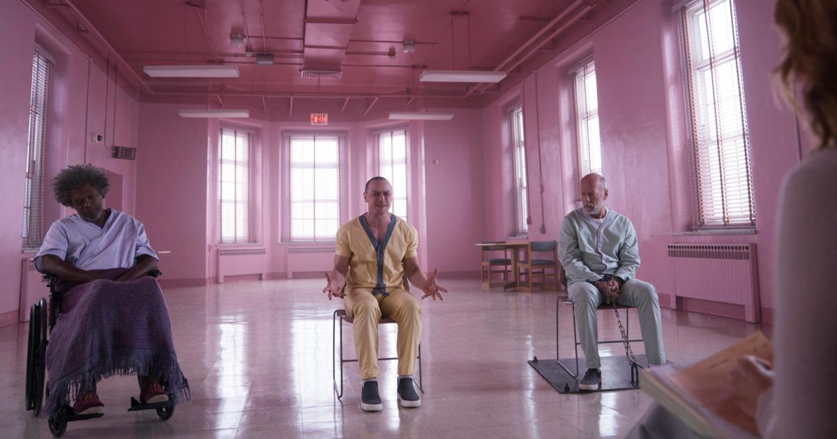 James McAvoy, Bruce Willis and Samuel L. Jackson return to