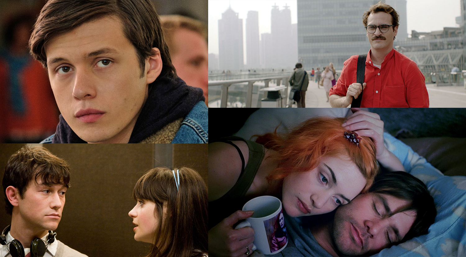 Love isn't perfect, but there's a thing or two to learn from the characters of these movies.