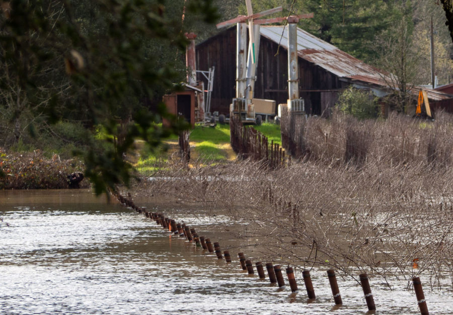 Many+Sonoma+County+roads+were+closed+on+Feb.+14+when+a+super+storm+hit+the+North+Bay+and+flooded+the+surrounding+areas.+Officials+alerted+residents+via+Nixle+with+flood+warnings+that+lasted+from+Feb.+14+to+Feb.+16.