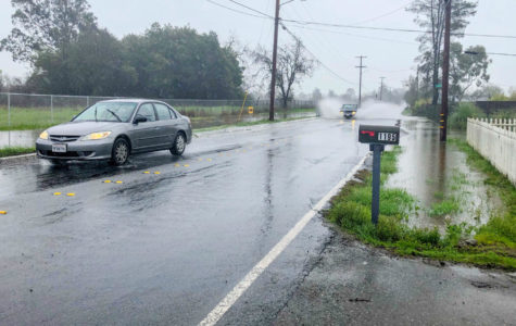 Several roads have been closed in Sonoma County due to flooding, including S. Wright Road and Miles Avenue. Both roads flooded at 12:30 p.m. on Feb 13.