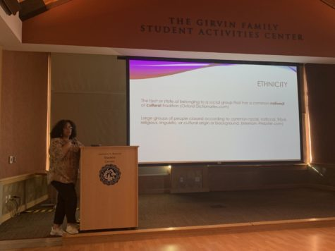 Social equality speaker engages students on issues of race, ethnicity and nationality that stem from bias and assumption