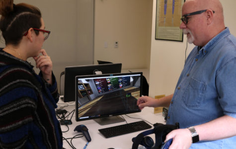 Virtual reality comes to Doyle Library