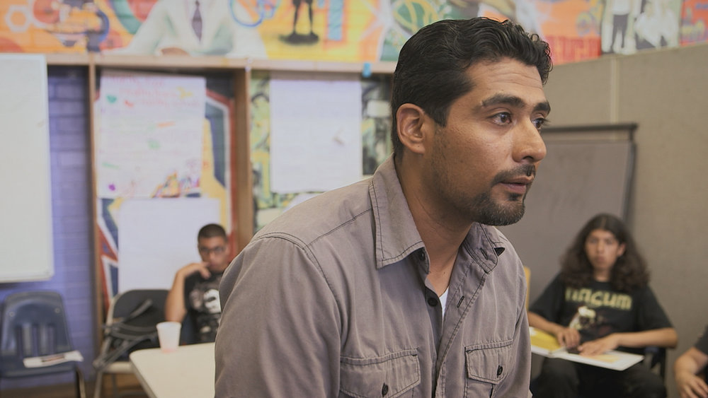 "Victor Rios mentors a group of ""pushouts"" who he says would be doomed to the school-to-prison pipeline if not for patience and education from programs like those in Watts."