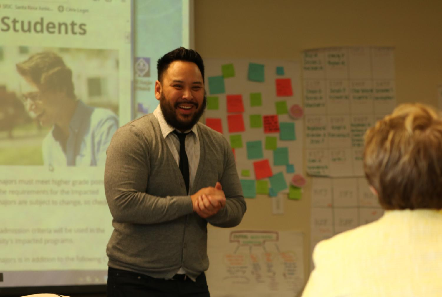 Alvin Nguyen, director of Sonoma State University's center for transfer and transition programs, designed the new intake advising program for transfer students.