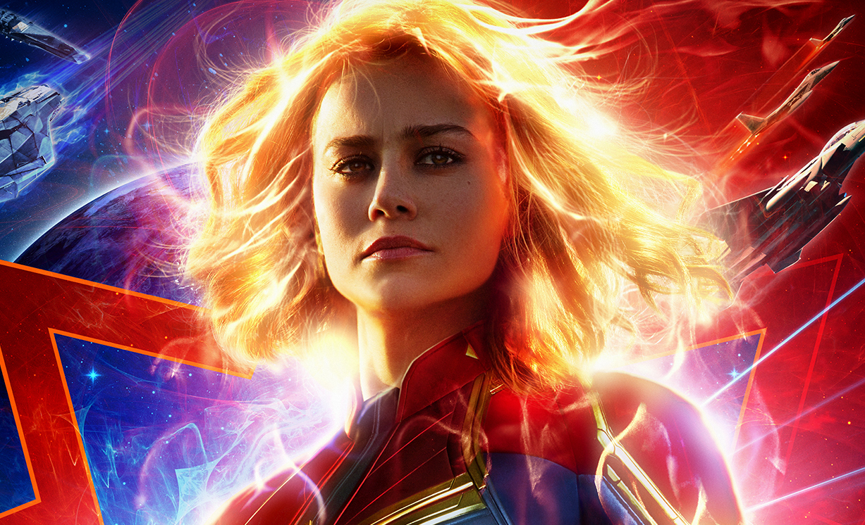 Captain Marvel brings in $455 million in worldwide weekend sales