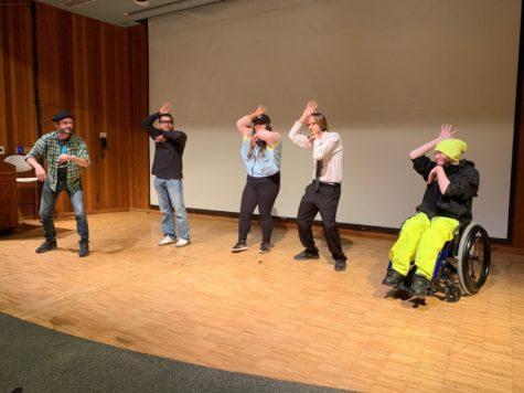 Professional creative sign-language performer brings ASL storytelling to SRJC