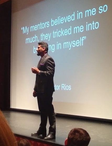 DR. Victor Rios is featured in the documentary The Pushouts which follows him as he helps lead a mentorship program in South Los Angeles.