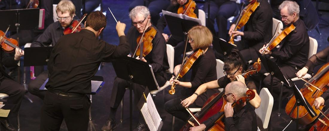 Conductor Jerome Fleg will be leading the SRJC orchestra and band in a concert combining music and visuals.