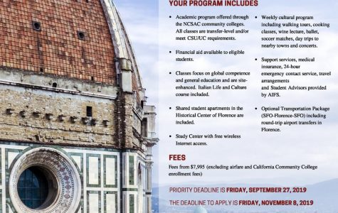 SRJC Study Abroad: Florence 2020 meetings begin