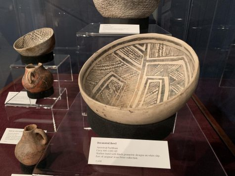 College's collection of hundred-year-old pottery on exhibition