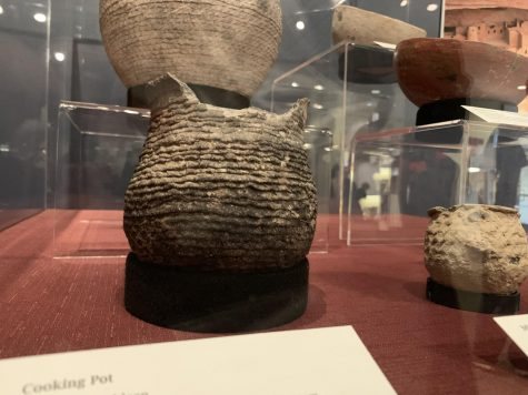 College's collection of hundred-year-old pottery on