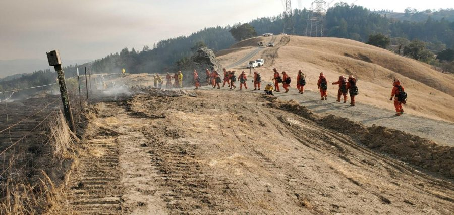 Gallery: In the fire zone in Healdsburg and Geyserville