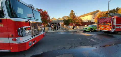Gloria Drive fire alarms Santa Rosa residents