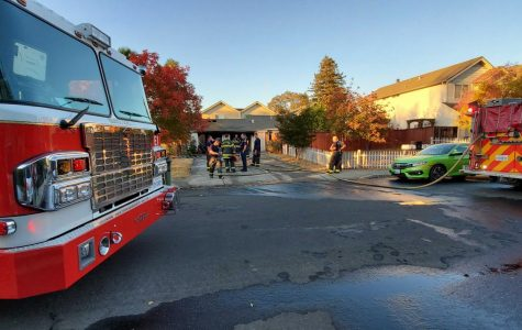 Gloria Drive fire alarms Santa Rosa residents