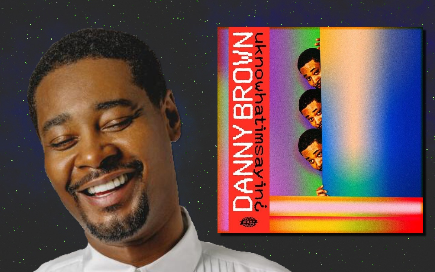 Danny Brown released the colorful, synth-heavy