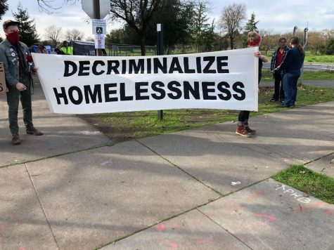Planned removal of homeless on Joe Rodota Trail delayed