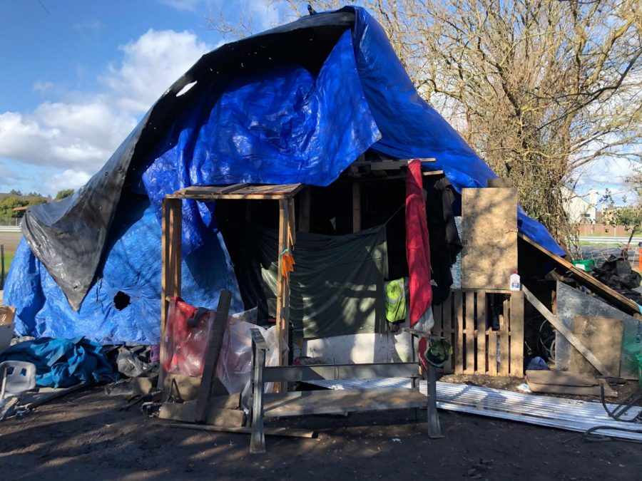 Carefully Constructed: Trail residents build meaning into their shelters