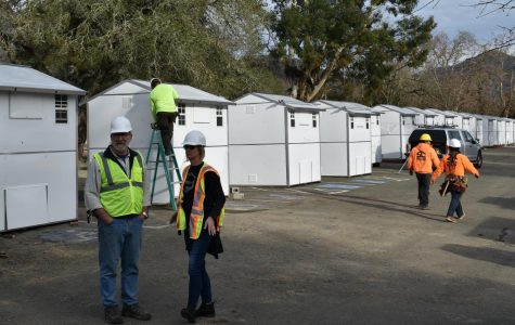 County readies services, 60 temporary houses for homeless on Joe Rodota Trail