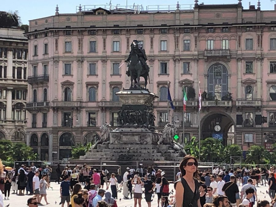 Milan, Italy is the epicenter of the Italian coronavirus outbreak. Milan, where hundreds of cases of coronavirus have been diagnosed, is only 160 miles from Florence and an hour or two by train.